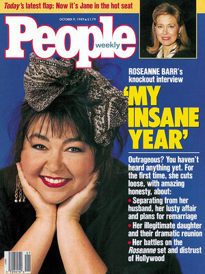 Roseanne Barr - People Magazine Cover - 1989