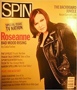 Roseanne Barr - Spin Magazine Cover - 1996