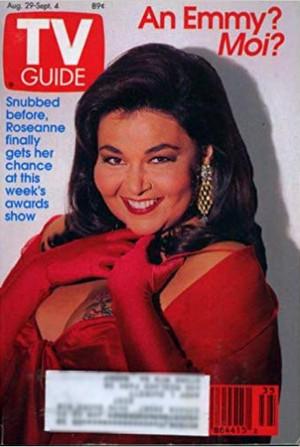 Roseanne Barr - TV Guide Cover - 1992
