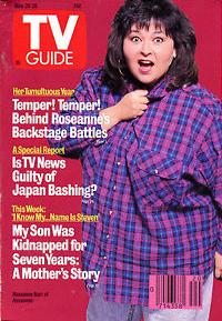 Roseanne Barr - TV Guide Magazine Cover - 1989