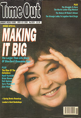 Roseanne Barr - Time Out Magazine Cover - 1990