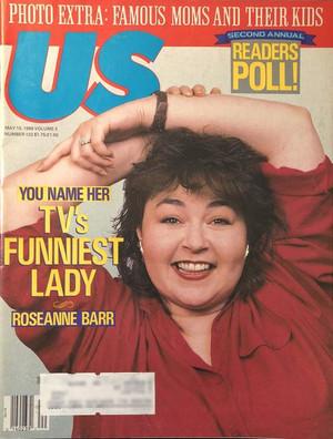 Roseanne Barr - Us Magazine Cover - 1989