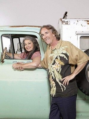Roseanne Barr and John Argent - Roseanne's Nuts Photoshoot - 2011