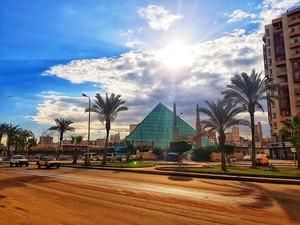 SUNSET IN ALEXANDRIA EGYPT