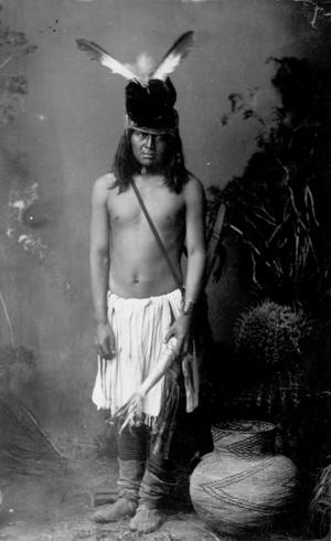 San Carlos Apache Man (Frank Randall 1886)