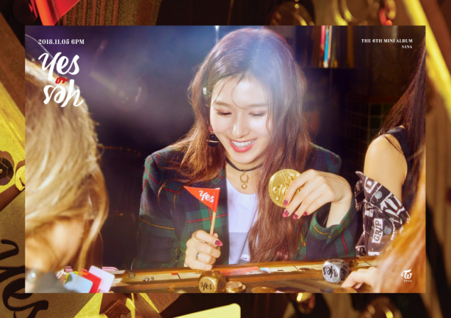Twice Jyp Ent Images Sana S Teaser Image For Yes Or Yes