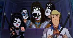Scooby Doo And kiss A Rock And Roll Mystery