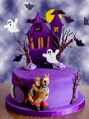 Scooby Doo Dia das bruxas Cake 🎃