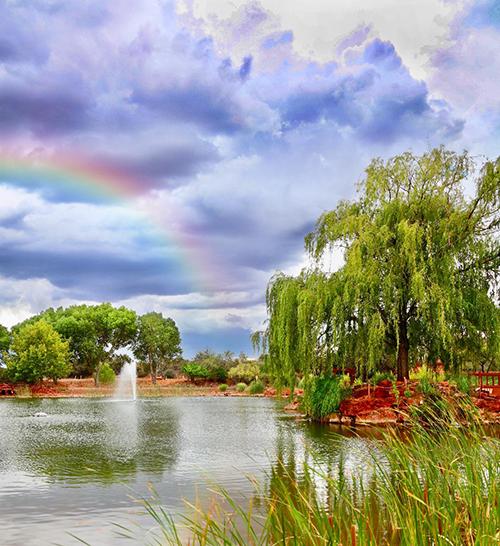 Sedona Mago Lake