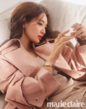 Shin Min Ah @ Marie Claire Korea
