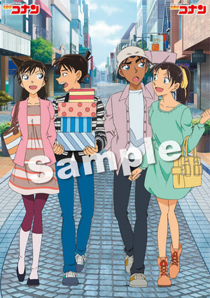 Shinichi x Ran & Heji x Kazuha