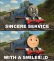 Sincere Service - thomas-the-tank-engine photo