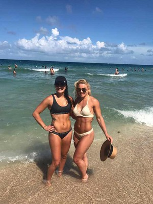 Sonya and Mandy