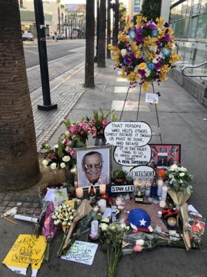 Stan Lee memorial tribute