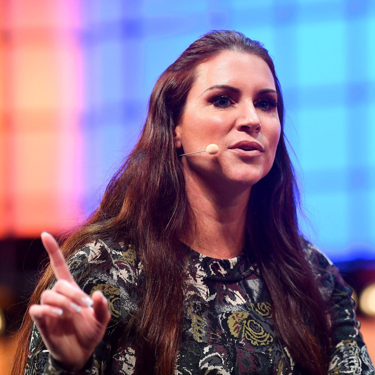 Stephanie Mcmahon Images Stephanie Mcmahon Speaks At Web Summit 2018 Hd Wallpaper And Background Photos