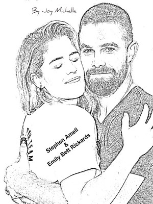 Stephen Amell and Emily Bett Rickards - Drawings da Me! ❤️