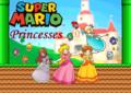 Super Mario Princesses - nintendo fan art