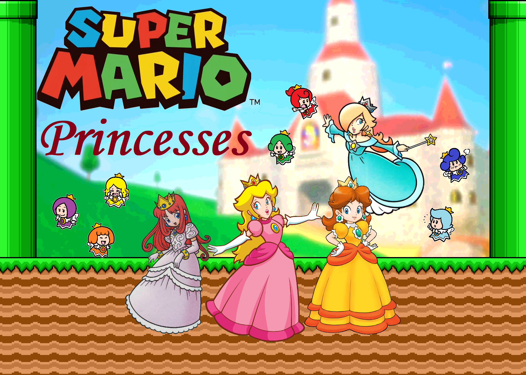 Super Mario Princesses