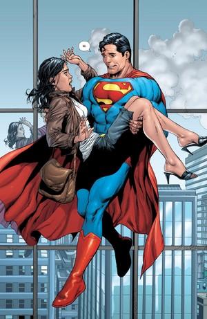 슈퍼맨 and Lois Lane