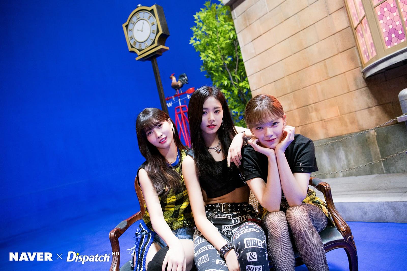 TWICE 'Yes hoặc Yes' MV Shooting - Jeongyeon, Momo, Tzuyu