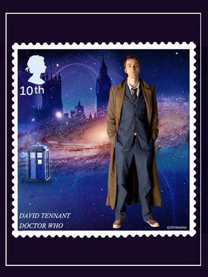 Tenth Doctor Stamp 💜
