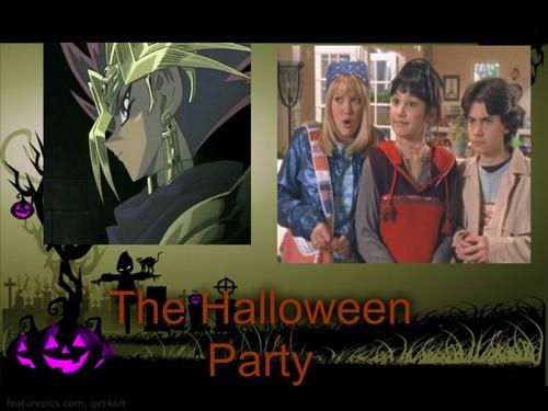 Lizzie McGuire fondo de pantalla titled The halloween Party