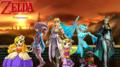 The Legend of Zelda and other Princesses - the-legend-of-zelda wallpaper
