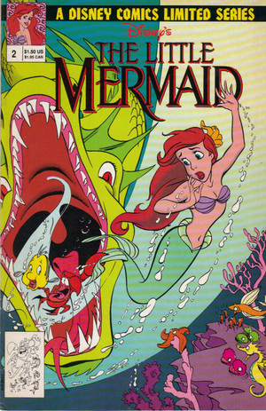 The Little Mermaid Serpent-Teen Part 2 Cover