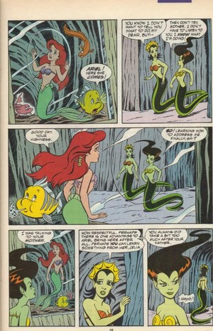 The Little Mermaid Serpent-Teen Part 2 Page 16