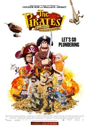 The Pirates! In An Adventure With Scientists! (2012) Movie Poster