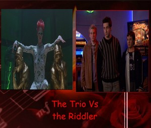 The Trio Vs the Riddler