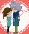 Fubuki y su novia - inazuma-eleven photo