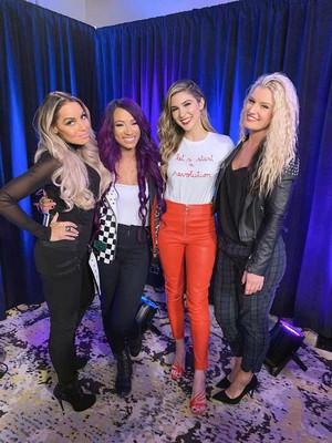 Trish, Sasha, Cathy, Toni