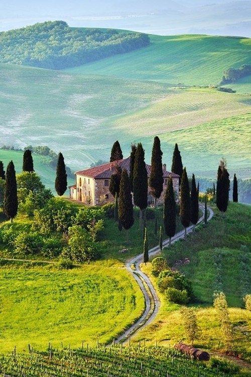 Tuscany(Italy)☀️🌸