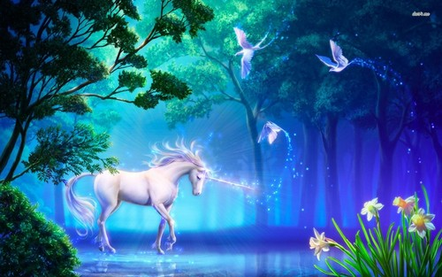 यूनिकॉर्न वॉलपेपर called Unicorn वॉलपेपर