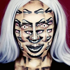 Very Scary halloween Makeup