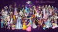 Video Game Princesses - video-games fan art