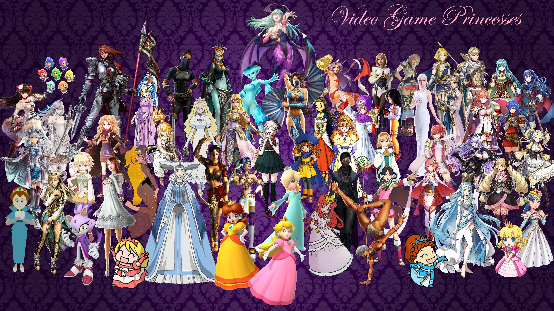 Video Game Princesses