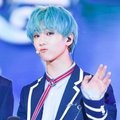 WE ALL WORSHIP THE BLUE HAIR - nct-band photo