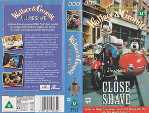 Wallace and Gromit: A Close Shave on VHS (UK Version)