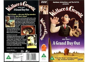 Wallace and Gromit: The Grand день Out On VHS (UK Version)