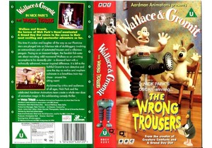 Wallace and Gromit: The Wrong Trousers On VHS (UK Version)