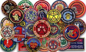 Wigan Casino Badges wallpaper