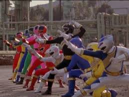 Wild Force and Time Force Power Rangers Morphed