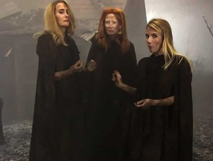 Witches behind the scenes