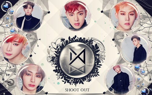 yulliyo8812 Обои entitled MONSTA X _SHOOT OUT #WALLPAPER
