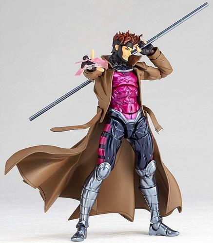 Gambit karatasi la kupamba ukuta called Yamaguchi Series Revoltech Gambit Figure