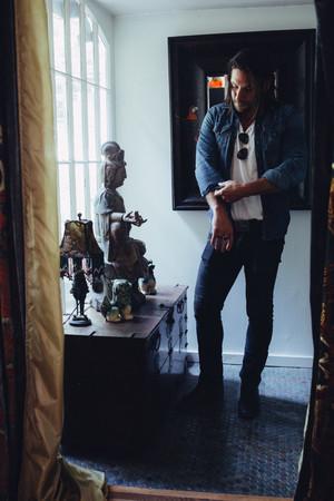 Zach McGowan - The Italian Reve Photoshoot - 2018