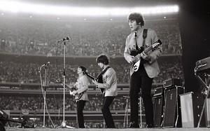 Beatles 1965 concierto Shea Stadium