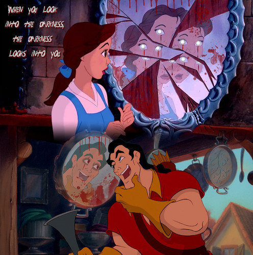 Disney wallpaper entitled beauty and the beast halloween